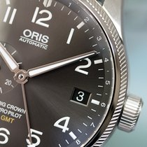 Oris Big Crown ProPilot GMT 45 Small Second Steel Grey Arabic