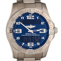 Breitling Professional Aerospace Evo Titan Superquarz 43mm...