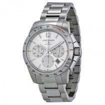 Longines Men's L27434766 Conquest Chronograph Watch