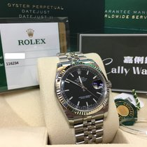 Rolex Cally - 116234 36mm Oyster Perpetual Datejust Black Stick
