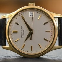 Patek Philippe Calatrava in Yellow Gold