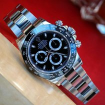 Rolex Cosmograph Daytona Black Dial Stainless Steel  Watch