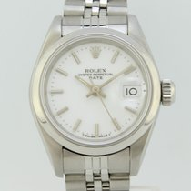 Rolex Oyster Perpetual Date Automatic Steel Lady 69160