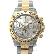 ロレックス (Rolex) Daytona White MOP Steel/18k gold G 40mm - 116503
