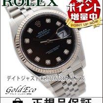 ロレックス (Rolex) 【超美品】ROLEX【ロレックス】 デイトジャスト メンズ腕時計【中古】 ref.116234G...