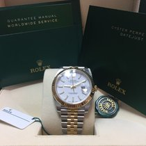 Rolex Datejust II, 41 mm, Steel/Gold, white dial, jubilee band