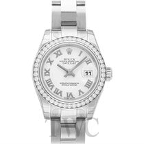 Rolex Lady Datejust White Steel Dia 26mm - 179384
