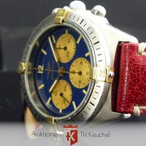 Breitling Callisto Chrono Gold Stahl Ref. 80520N Lemania...