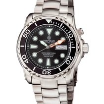 Deep Blue Pro Sea Diver 1k Automatic Diving Watch 1000m Wr Ss...