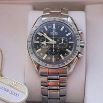 Omega Speedmaster GMT - Broad Arrow, Co-Axial, 2015 complete set