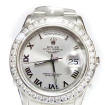 Rolex Day-Date President 18K White Gold