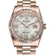 Ρολεξ (Rolex) Day-Date 36 118235-MOPDP White Mother of Pearl...