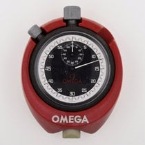 Omega Stop Watch with Red Case/Stand Vintage Working (B2576)