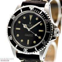 Rolex Vintage Submariner Ref-5513 UNDERLINE Gilt Dial Stainles...