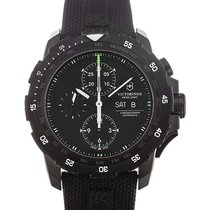 Victorinox Swiss Army Alpnach 44 Chronograph Black Dial