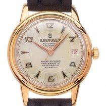 G. Beguelin Calendrier De Luxe Gelbgold Automatik Armband...