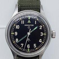 Hamilton 6b British military issue pilot wrist watch 1960s