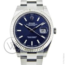 Rolex New Datejust 41 Blue New-Full Set