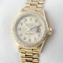 Rolex LADY DATEJUST 26mm GOLD 750 DIAMANTEN Service 09/17