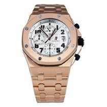 Audemars Piguet AP Offshore 42mm 18K Rose Gold Watch Bracelet...