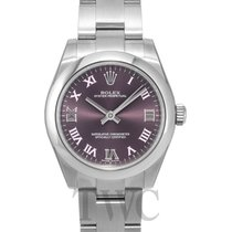 ロレックス (Rolex) Oyster Perpetual Midsize Purple/Steel Ø31 mm -...