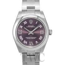 Rolex Oyster Perpetual Midsize Purple/Steel Ø31 mm - 177200