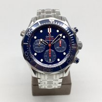Omega Seamaster 300M Co-Axial Blue Chronograph Men's Watch...