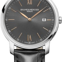 Baume & Mercier Classima Quartz 42mm Black Dial