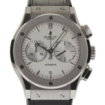 Hublot Classic Fusion 521.NX.2610.LR 45mm Titanium Leather...