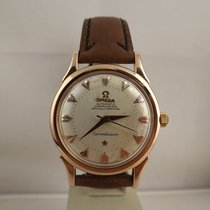 Omega 2852 2853 Constellation rose gold Pie Pan chronometer