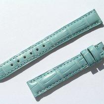 Chopard Croco Band Strap Blue 14 Mm 70/105 New C14-12 -70%