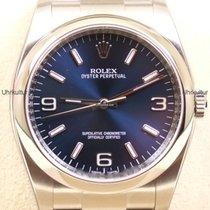 Rolex Ref. 116000 - blau arabisch/weiß Index Zifferblatt