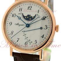 Breguet Classique Power Reserve & Moonphase, Silver Dial -...