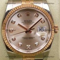 Rolex Datejust, Ref. 116231 - silber Diamant ZB/Jubileband