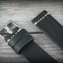 Leather watch strap CUOIO VINTAGE LARGE for Panerai 22 mm...
