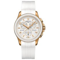 Certina DS First Lady Keramik Chrono Damenuhr C030.217.37.037.00