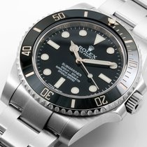 Rolex SS Ceramic NO-Date Submariner 114060 Model