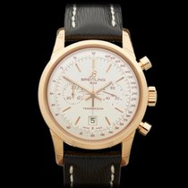 Breitling Transocean Chronograph 38 18k Rose Gold Gents R4131012