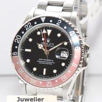 Rolex GMT Master II Stahl Coke Uhr Ref.16710
