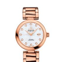 Omega De Ville Ladymatic Co-Axial 34 mm mit Brillanten