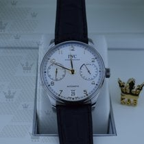 IWC  IW500704   Portugieser Automatic White dial