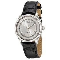 Rolex Cellini Time Silver Dial Automatic Men's 18 Carat...