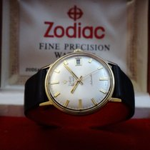 Zodiac Vintage Hermetic 18k Gold Men's Watch