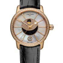 Ulysse Nardin Classic Luna 18K Rose Gold & Diamonds Ladies...
