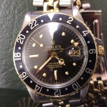 Rolex GMT-Master 1675 - Steel Gold - Jubilee Bracelet - With Box