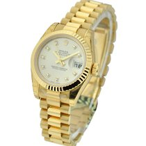 Rolex Unworn 179178 Ladies Yellow Gold Datejust with Fluted...