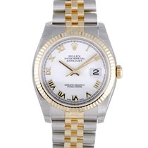 Rolex Oyster Perpetual Datejust 36mm Fluted Bezel 116233 wrj