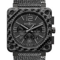 Bell & Ross BR0194 CARBON-FIBER PHANTOM Aviation BR-01...