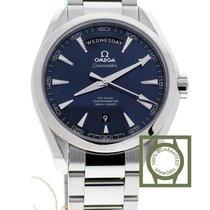 Omega Seamaster Aqua Terra 150m day date blue dial