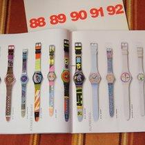 Swatch Produktkatalog aller Swatchuhren von 1983 bis 1992